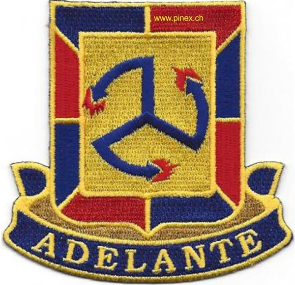 Picture of 515th Infantry Regiment Patch Adelante US Army Abzeichen