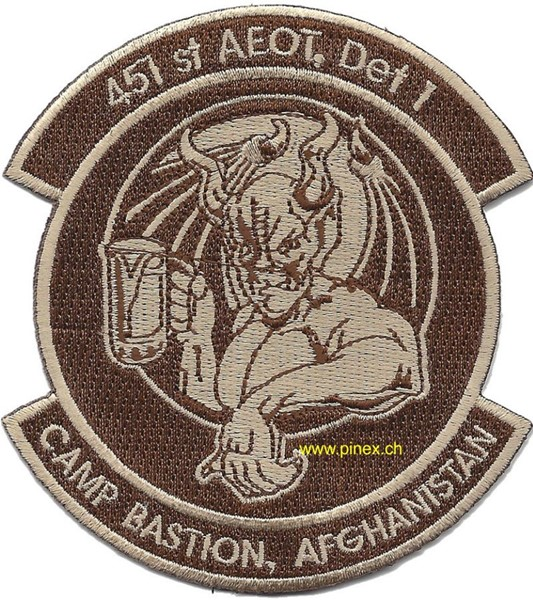Picture of 451st Expeditionary Aeromedical Evacuation Squadron Patch Camp Bastion Afghanistan