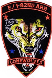 Bild von 1st Squadron 82nd Aviation Attack Recon Battalion E Co Patch LONEWOLVES