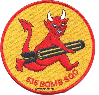 Picture of 535th Bomb Squadron WWII Abzeichen US Air Force