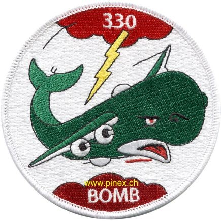 Picture of 330th Bomb Squadron WWII Europa Abzeichen US Air Force