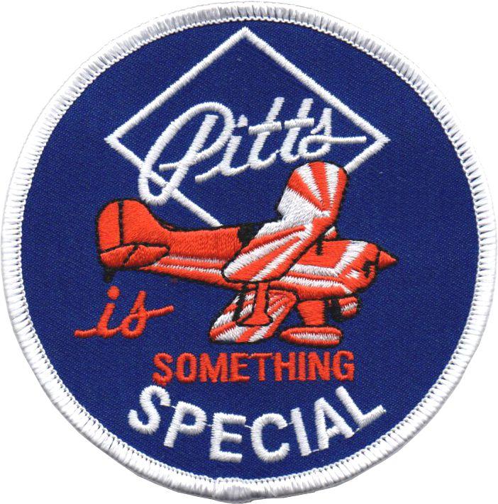 Pitts Special Emblem Abzeichen Pinex Badges