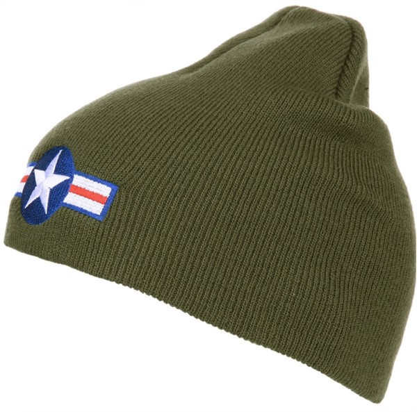 Photo de US Air Force Logo WW2 Beanie Winter Mütze