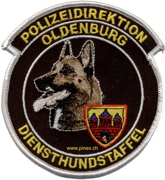 Photo de Polizeidirektion Oldenburg Diensthundstaffel Abzeichen