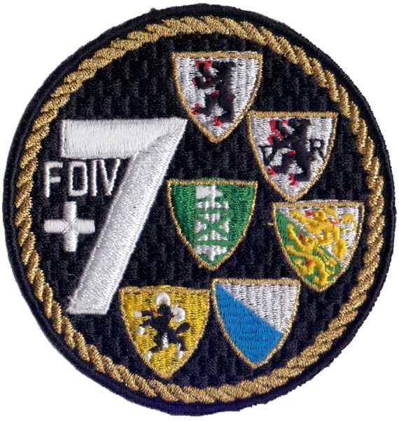 Picture of Felddivison 7 gold Badge Armee 95