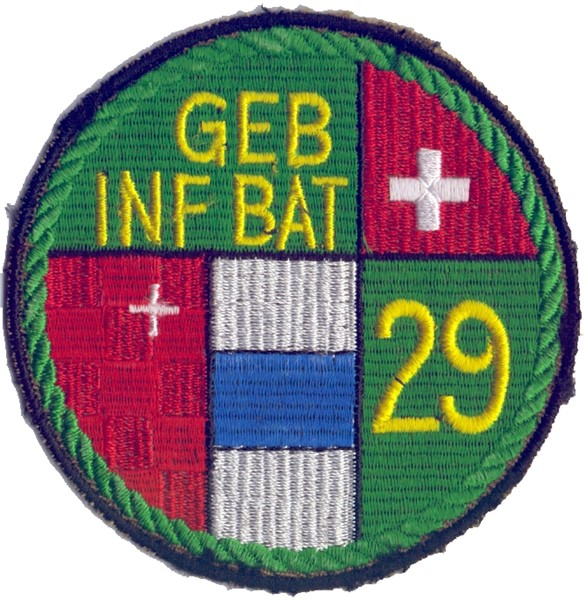 Picture of Geb Inf Bat 29 grün