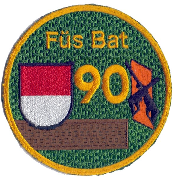 Photo de Füs Bat 90 braun Armee 95 Emblem
