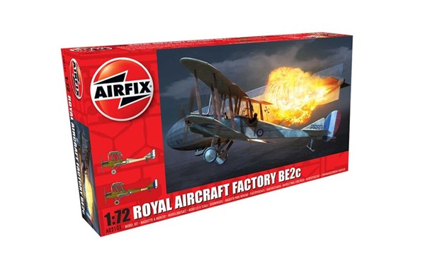Picture of Royal Aircraft Factory BE2c Night Fighter Modellbausatz 1:72 Airfix
