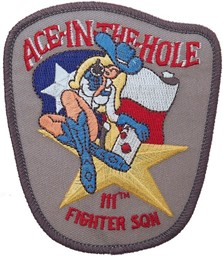 Bild von 111th Fighter Squadron Ace in the Hole Abzeichen