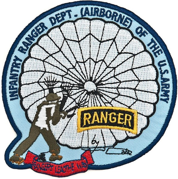 Picture of US Army Airborne Ranger Abzeichen