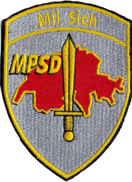 Picture of Mil Sich MPSD Badge ohne Klett