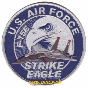 Photo de F15 Strike Eagle US Air Force Abzeichen