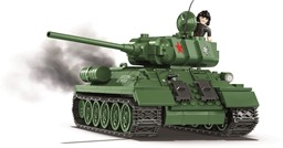 Bild von Cobi Panzer T34-85 World of Tanks 3005A WW2 Baustein Set