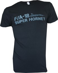 Photo de F/A-18 Super Hornet T-shirt schwarz