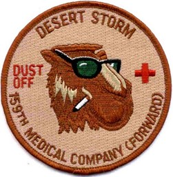 Bild von 159th Medical Company Patch (Dustoff) Desert Storm Abzeichen Patch