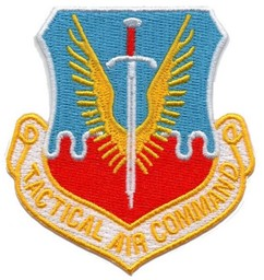 Bild von Tactical Air Command Abzeichen US Air Force