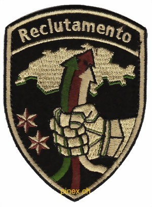 Photo de Reclutamento Badge mit Klett