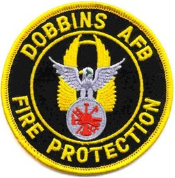 Bild von NASA Dobbins Air Force Base Patch Abzeichen
