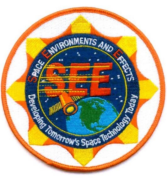 Bild von NASA Space Environments And Effects Patch Space Technologie Abzeichen