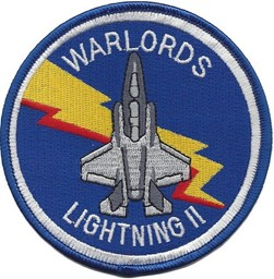"Bild von VMFATMarine Fighter Attack Training Squadron 501 ""WARLORDS""  F-35 Patch Abzeichen"