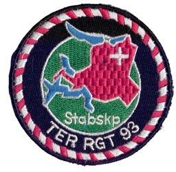 Bild von Stabskompanie Badge Ter Rgt 93 Armee 95 Badge