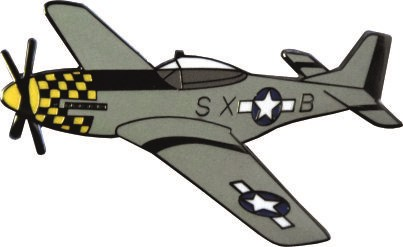 Bild von P-51 Mustang US Air Force Pin