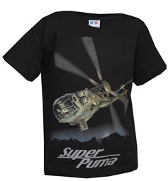 Photo de Super Puma Kinder T-Shirt schwarz