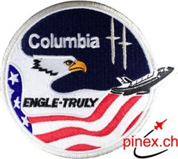 Photo de STS 2 Columbia Shuttle Mission Nasa Badge