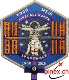Bild von First All Women Spacewalk Gedenk-Abzeichen Patch