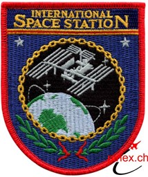 Bild von ISS International Space Station Abzeichen ISS Emblem Patch