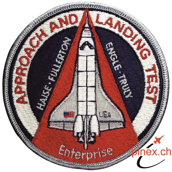 Bild von Space Shuttle Enterprise Approach and Landing Test Abzeichen Patch