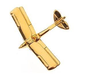Bild von De Havilland Tiger Moth Clivedon LARGE Pin Anstecker