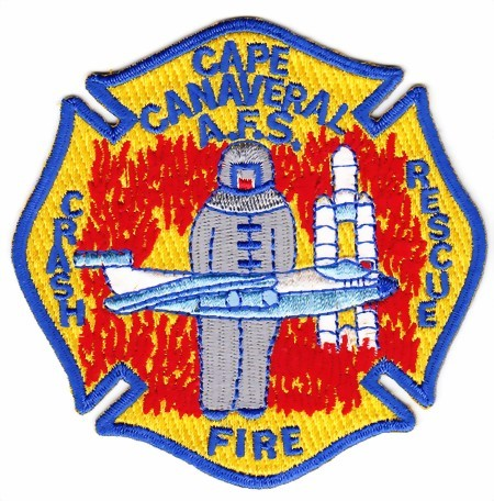 Photo de Cap Canaveral Crash and Fire Rescue Abzeichen