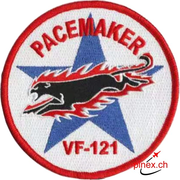 Bild von VF-121 Fighting 121 PACEMAKER US Navy Squadron Patch
