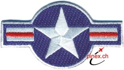 Bild von US Air Force WW2 Abzeichen Stars and Bars Patch