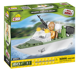 Bild von Cobi Shark  Patrouillenboot 2154 Small Army