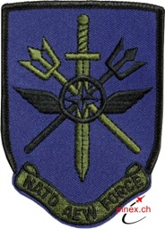 Bild von NATO Airborne Early Warning & Control Force Abzeichen Patch Blau