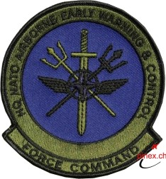 Bild von HQ NATO Airborne Early Warning & Control Force Command Abzeichen Patch