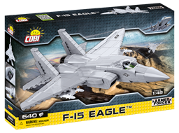 Bild von Cobi 5803 F-15 Eagle Kampfjet US Air Force Baustein Bausatz