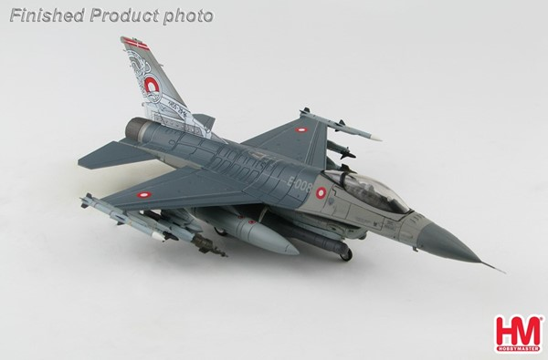 Bild von F-16M Falcon 66th Anniversary of Royal Danish Air Force 2016 Metallmodell 1:72 Hobby Master