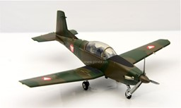 Bild von Pilatus PC-7 Turbo Trainer Austrian Air Force DieCast Modell 1:72 Herpa Wings