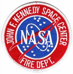 Bild von JFK Space Center Firefighter Patch Abzeichen