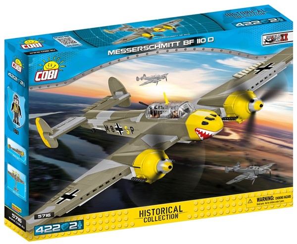 Bild von Cobi Messerschmitt BF-110 D  WW2 Historical Collection Baustein Set 5716