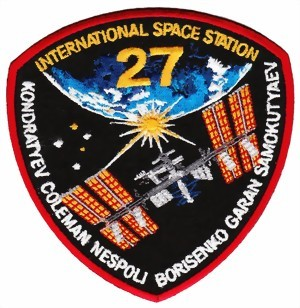 Photo de ISS Mission Batch 27 Abzeichen ISS