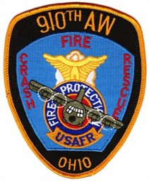 Bild von US Air Force Crash and Fire Rescue Badge