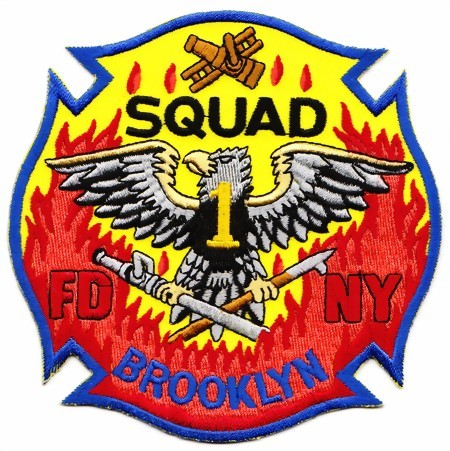 Photo de Feuerwehr Badge Brooklyn 115mm