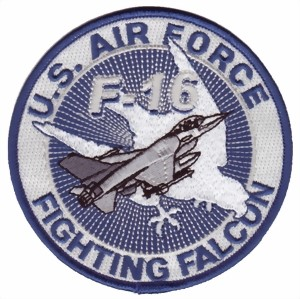 Picture of F16 Falcon System Abzeichen US Air Force
