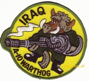 Picture of A-10 Warthog IRAQ