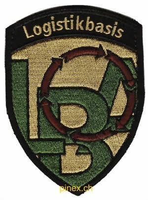 Picture of Abzeichen Logistikbasis mit Klett Armee 21 Badge