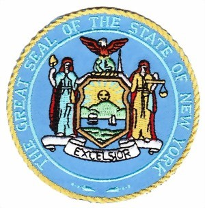 "Photo de Seals Abzeichen ""The grate SEAL of the State New York"""